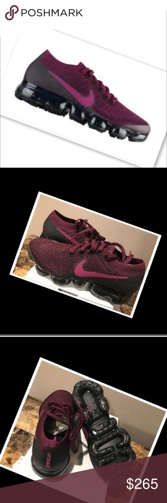 new concept a7c4a f1d80 Nike Vapormax Authentic Women's Size 9 Burgundy/Purple Color ...
