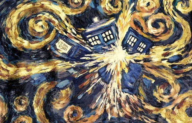 Doctor Who huge wall mural Tardis poster, Doctor who