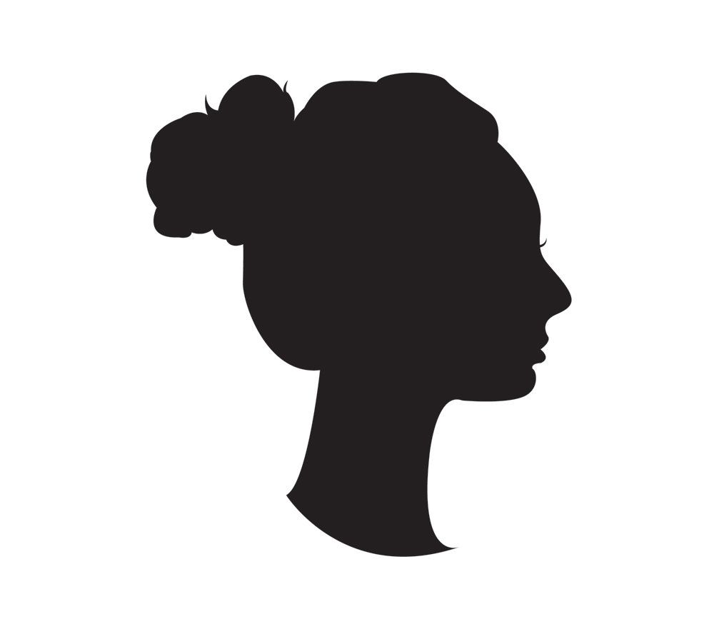 Etsy Custom Bust Silhouette Gift For Mom Personalized