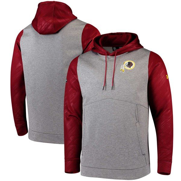 Top Washington Redskins Under Armour Combine Authentic Novelty Pullover  for sale