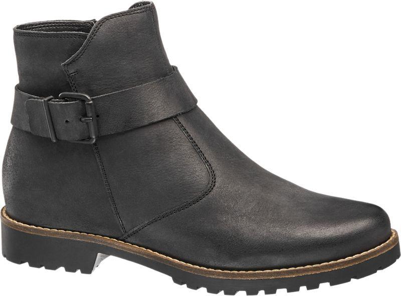 900058d5515826 Sale  Schuhe  Stiefeletten  Damen  5th  Avenue  Stiefelette  schwarz ...