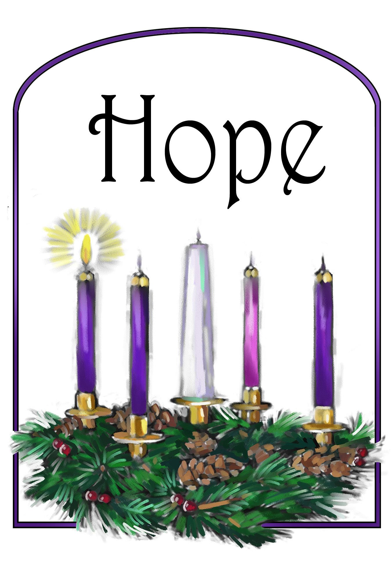 first week of advent candle oit - Google Search | Third sunday of advent, Christmas advent, Advent prayers