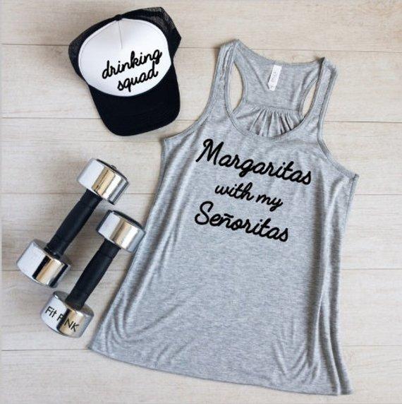 2f489c83 Margaritas With My Señoritas, Margarita Shirt, Bachelorette Party Shirt,  Vacation, Cinco de Mayo Shi