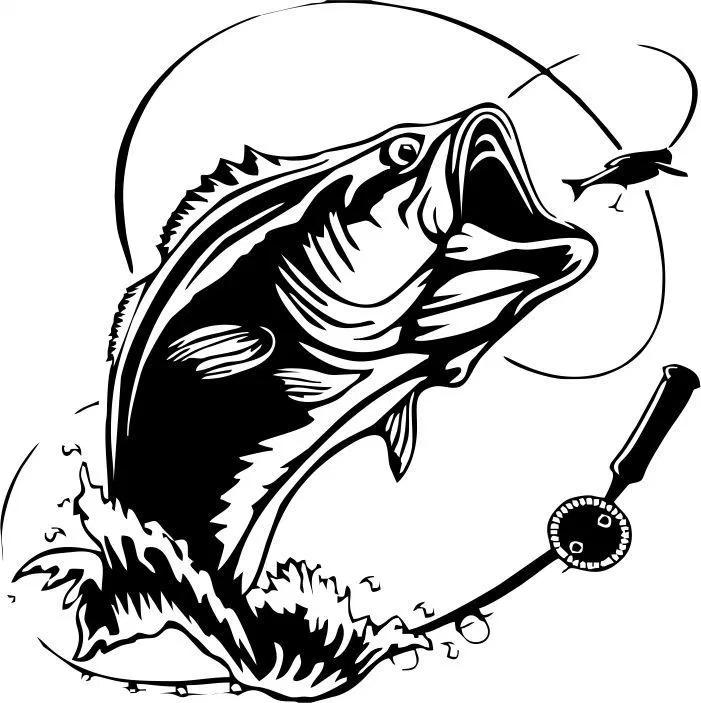 Symbol Of Ocean Tuna Anglers Amee House Fish Silhouette Bugs Bunny Drawing Art Logo