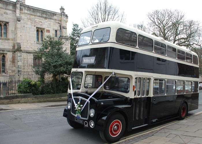 Vintage Wedding Cars Or A Classic 72 Seat Red Double Decker Bus The Stylish Stretch Limousine Hire For Harrogate York And North Yorkshire