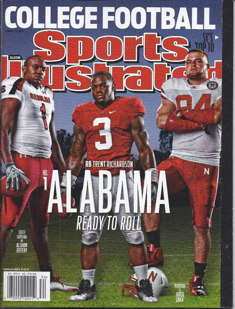 Sports Illustrated Magazine College Football Preview Scouting Reports 2011 In 2020 Alabama Athletics Sports Illustrated Covers Crimson Tide Football