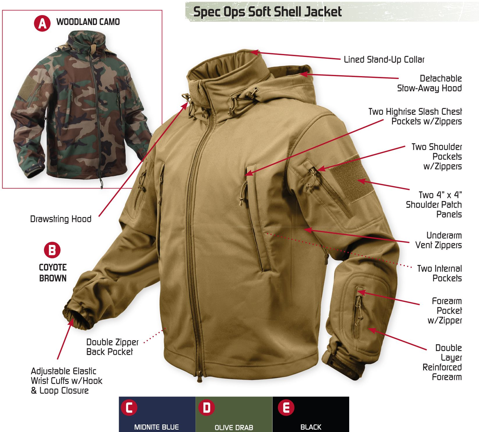 Sports & Entertainment The Cheapest Price Us Uk M65 Outdoor Windbreaker Jacket With Inner Soft Shell Men Windbreaker Jacket Combat Tactical Military Thicken Winter Jacket To Produce An Effect Toward Clear Vision Camping & Hiking