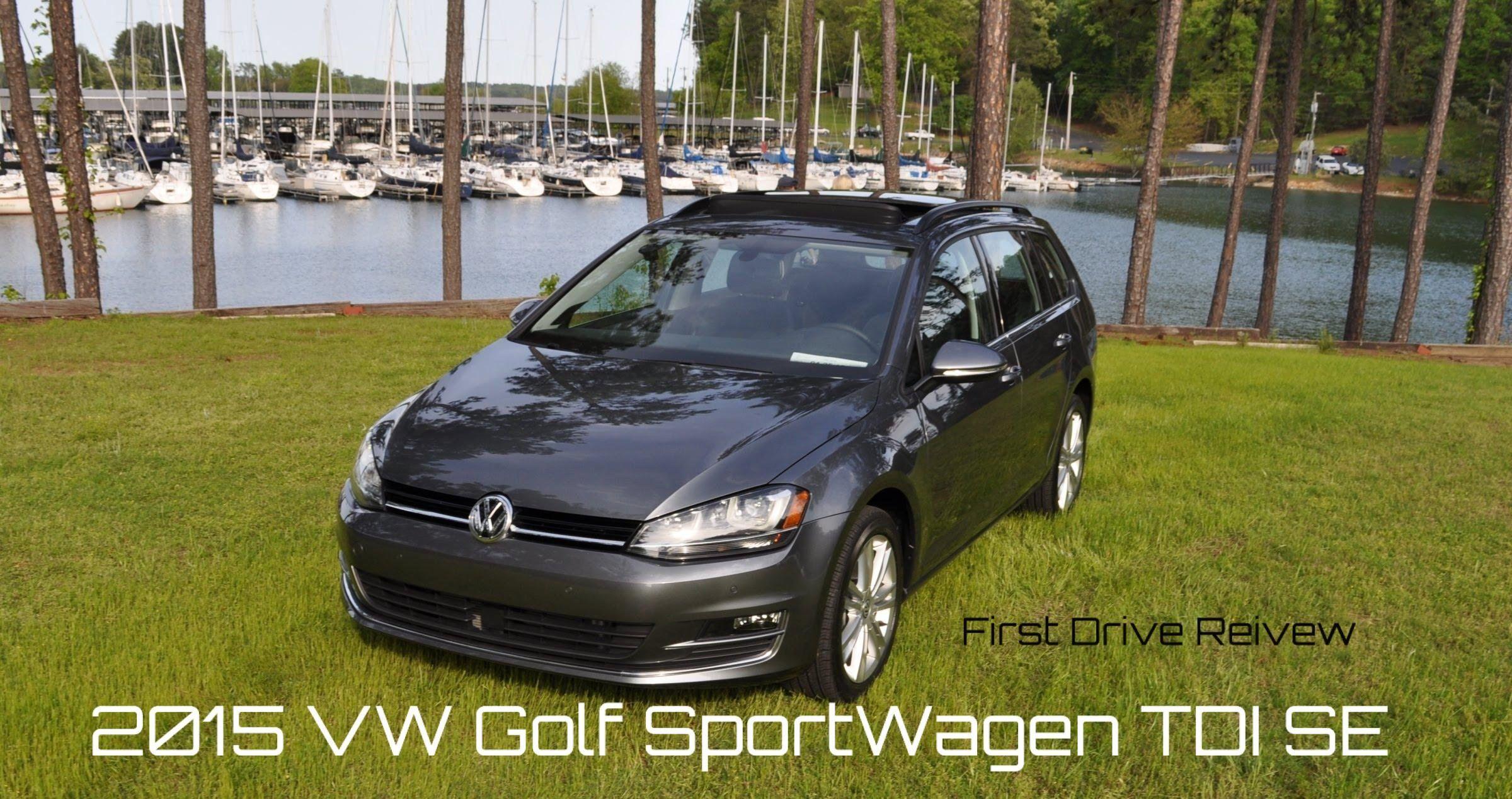 2015 VW Golf Sportwagen TDI SE 6-Speed Manual - 4K Road Test Review