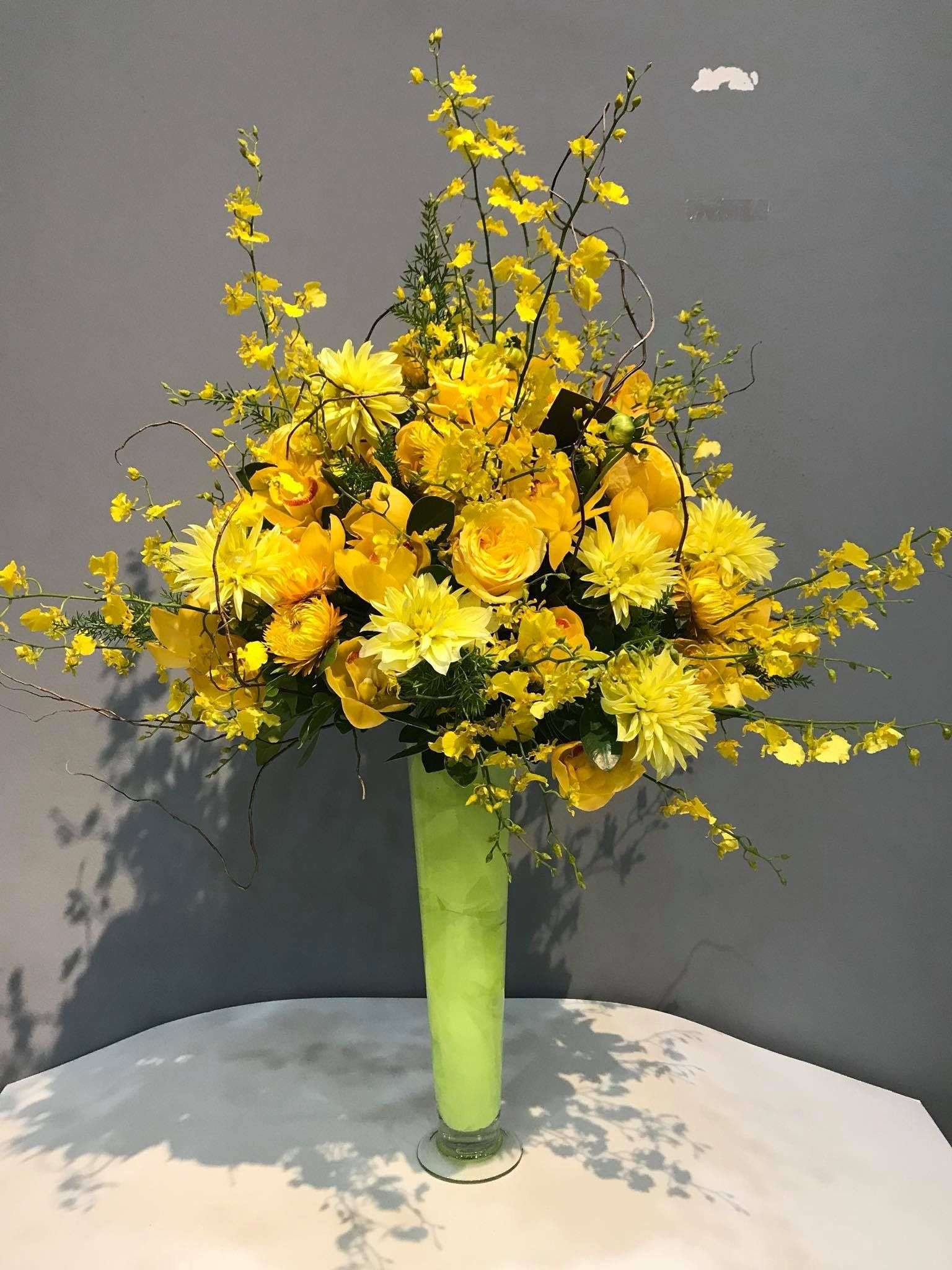 The Yellow Mysteries Deco Flowers Pinterest Mystery Flower