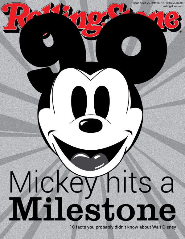 Mickey Mouse by Lauren Capponi, via Behance