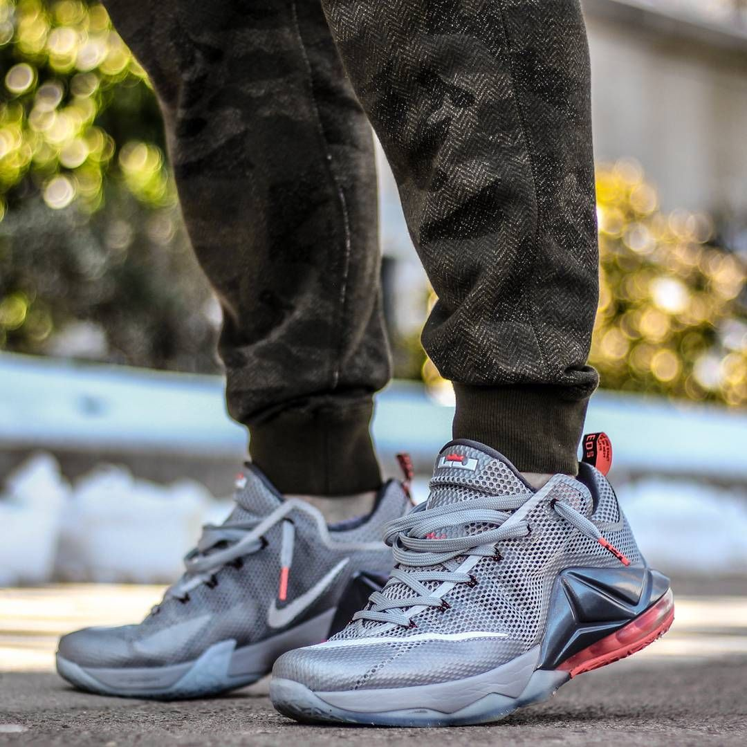 3fb244a08e9558 ... promo code for nike lebron 12 low wolf grey nike lebron lebron james  sneaker bbb6f 8e5d0