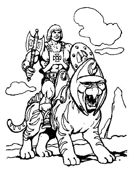 Battlecat Cartoon Coloring Pages Super Coloring Pages Cat Coloring Page