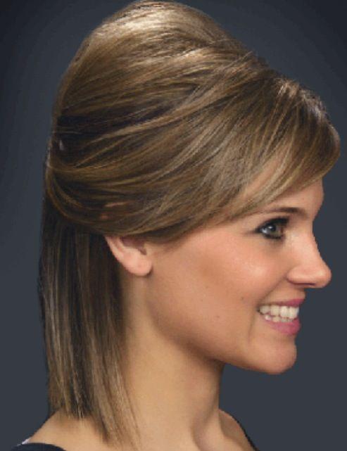 Pin By Cierra Visgar On Hairstyles Hair Color Etc Loose Hairstyles Short Hair Styles Bump Hairstyles