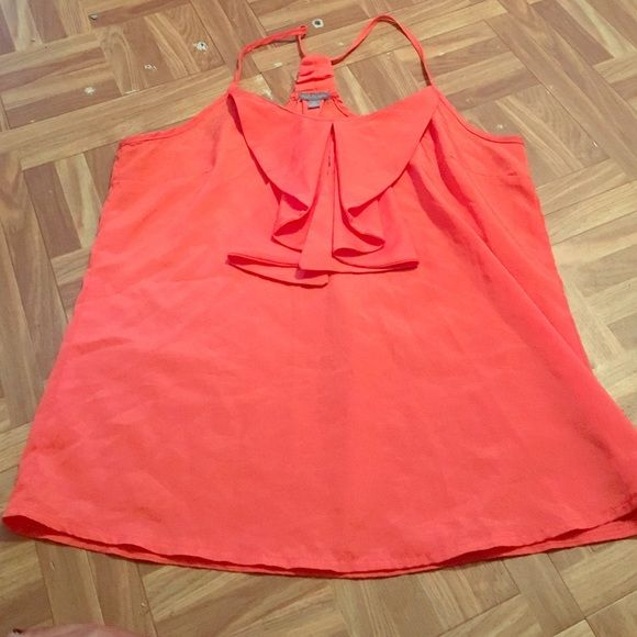 Orange tank top This orange tank top has only been worn a few ones like brand new nothing wrong with it  Charlotte Russe Tops Blouses