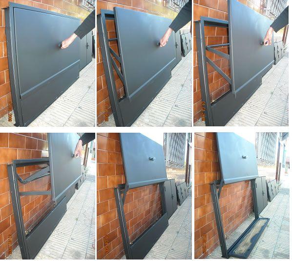 Puerta para parrillas parrillas pinterest parrilla for Como hacer una puerta de metal