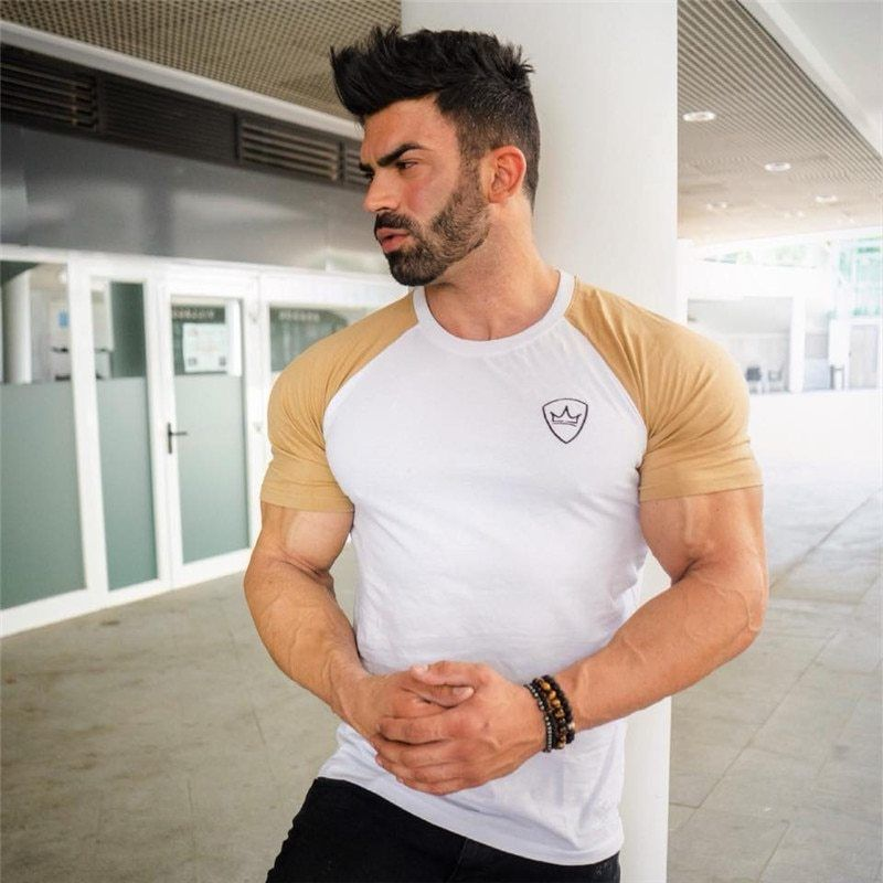 Sergi Constance Be a Legend T Shirt Bodybuilding Gym Fitness Muscle Workout Top