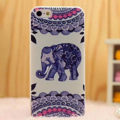 Vintage Cute Elephant Folk Ikon 5/5s/6 Cases|Creative Iphone Cases - Iphone Accessories - ByGoods.com