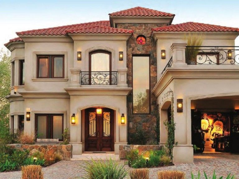 38 Awesome Spanish Style Exterior Paint Colors You Will Love Mediterranean Style House Plans House Designs Exterior Mediterranean Homes