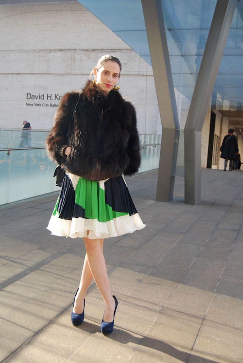 A-line skirt always top of the style staple list.