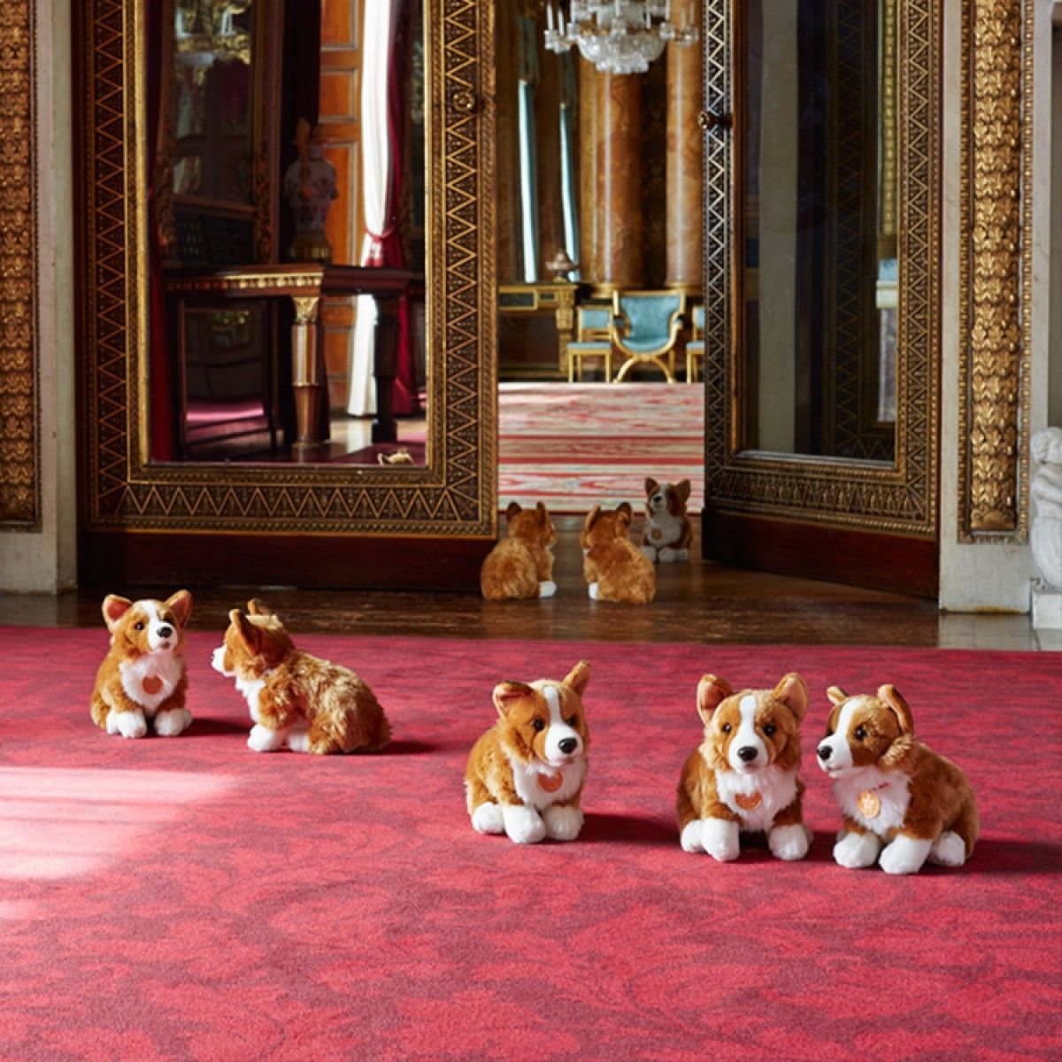 Buckingham Palace Cuddly Corgi Corgi Pembroke Welsh Corgi