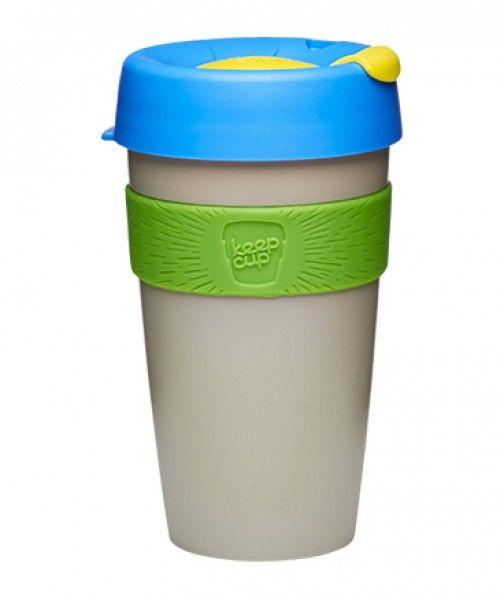 """""""KeepCup Germain L"""" • Die stylishen und umweltfreundlichen Coffee-To-Go-Becher der Marke KeepCup wurden weiter optimiert: Eine vergrößerte Öffnung macht das Trinken angenehmer."""