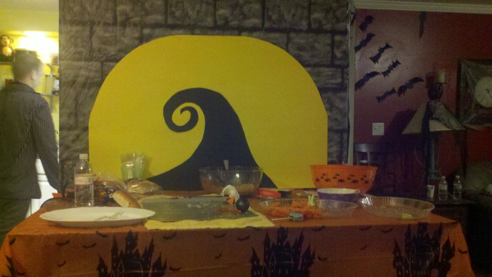 a mom, a wife, and a me: Nightmare before christmas halloween party