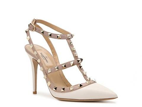 valentino studded pump pumps  heels women's shoes  dsw