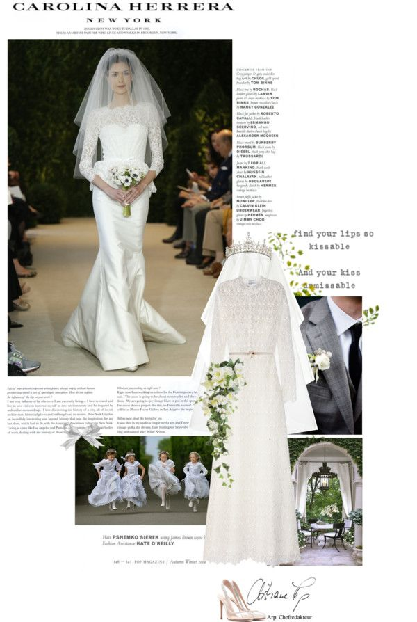 """And Shall The Bride Enchant Them All"" by cutekawaiiandgoodlooking ❤ liked on Polyvore"