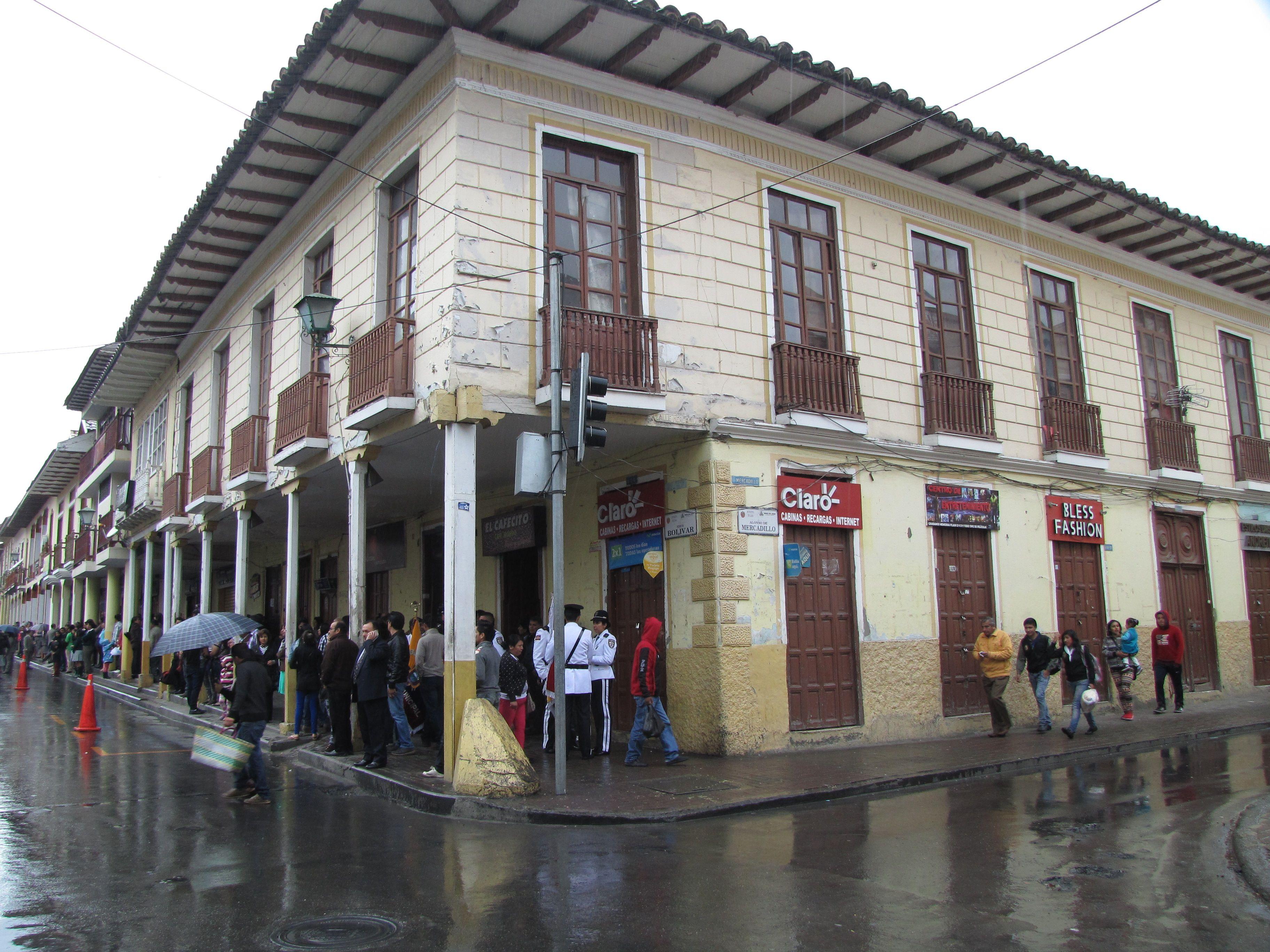 A rainy day in Loja, Ecuador