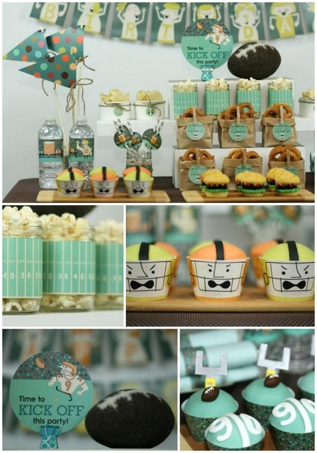 Fun decorations and food for your Super Bowl themed party from Spaceships and Laser beams. & Fun decorations and food for your Super Bowl themed party from ...