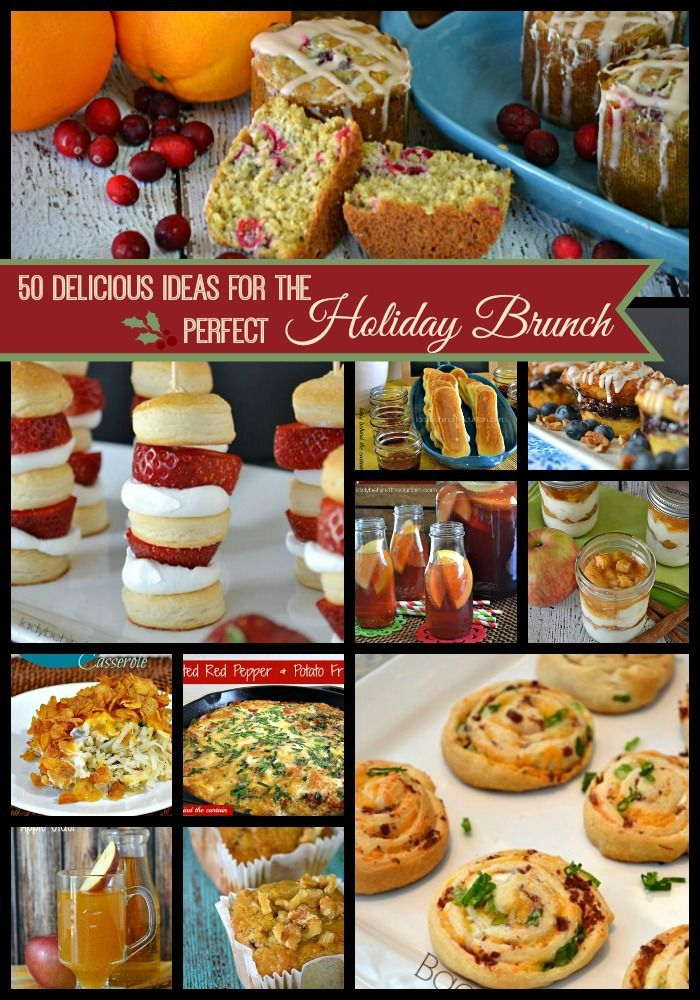 50 Delicious Ideas For The Perfect Holiday Brunch