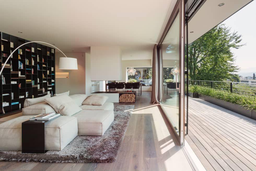 Moderne Wohnzimmer Bilder Objekt 336 House interior design - moderne wohnzimmer design