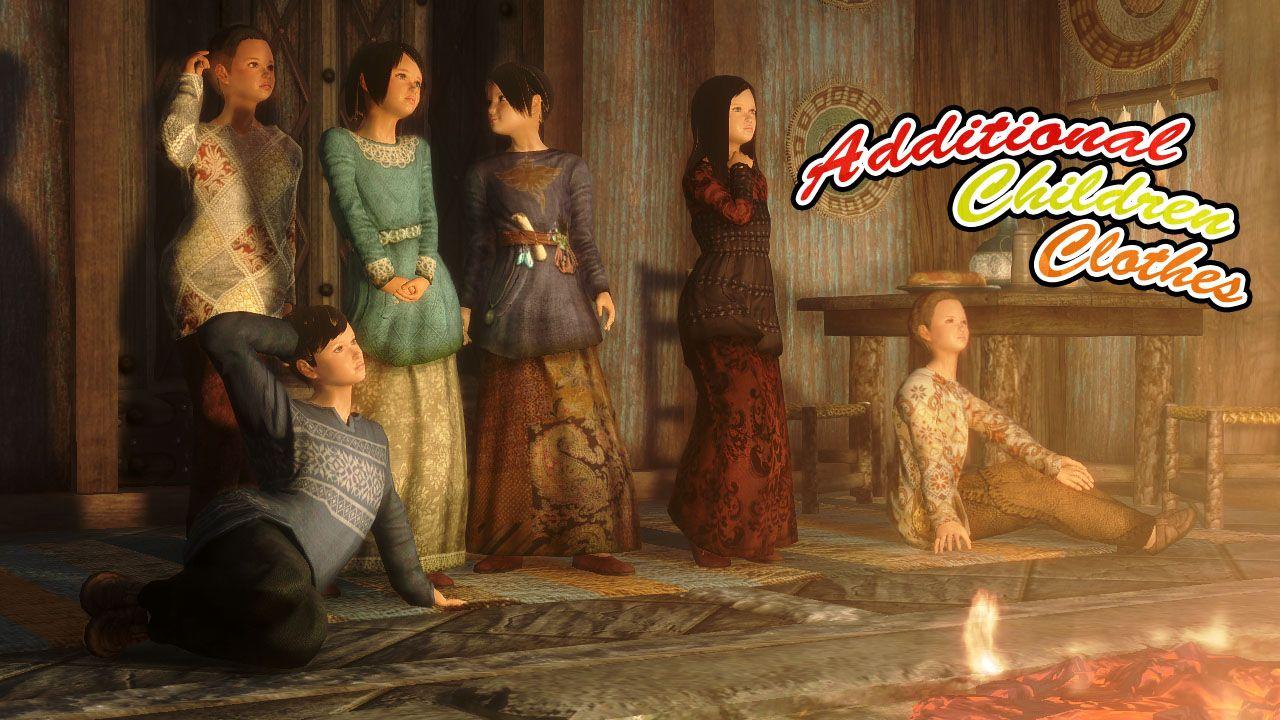 Additional Children Clothes by tanishin | Skyrim | Skyrim