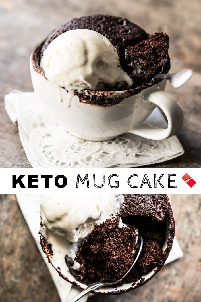 (3 Minute!) Paleo & Keto Mug Cake with Chocolate #keto # ...