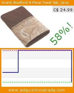 Avanti Bradford 4-Piece Towel Set, Java (Kitchen). Drop 58%! Current price C$ 24.99, the previous price was C$ 58.99. http://www.adquisitiocanada.com/avanti/bradford-4-piece-towel