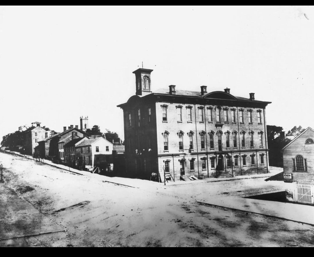 Fairfield county courthouse old lancaster ohio ohio