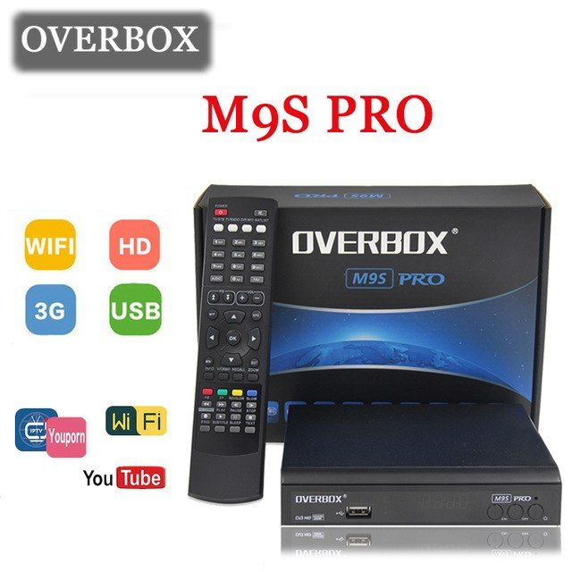 OVERBOX M9S PRO Satellite Receiver ALi 3511CPU 32bit os Support Biss