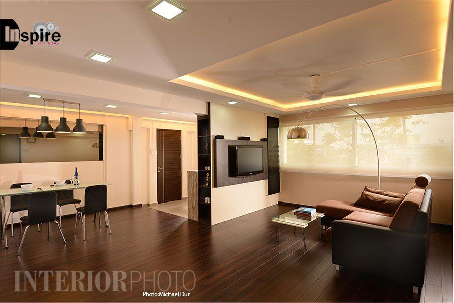 Simei 5 Room Flat Hdb Home Interior Kitchen Living