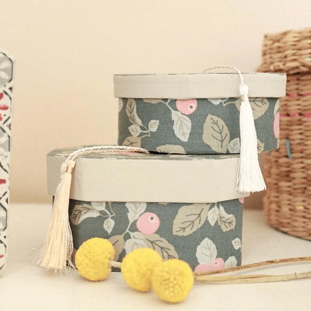 Boîtes à pompons