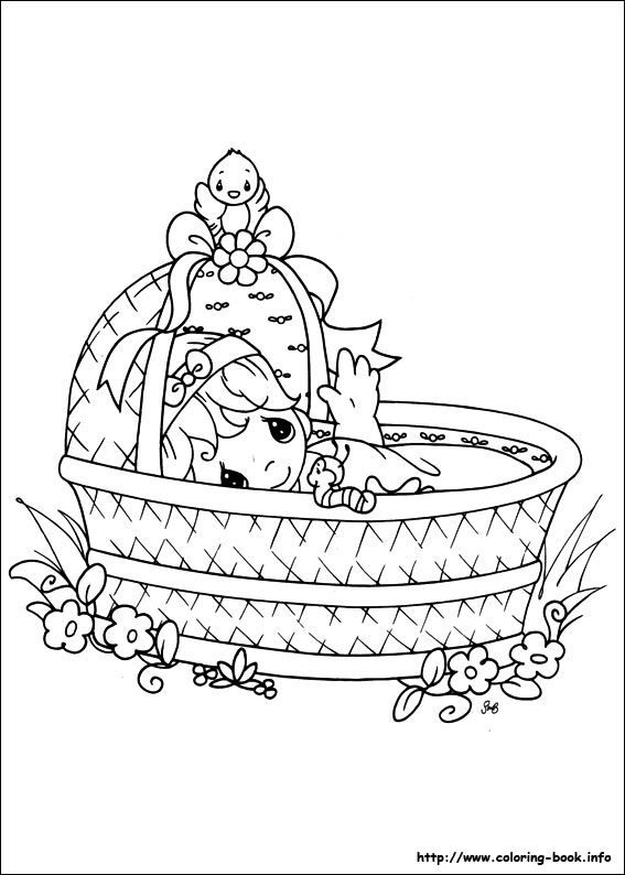 DIBUJOS PARA COLOREAR: PRECIOUS MOMENTS - Coloring Pages | 794x567