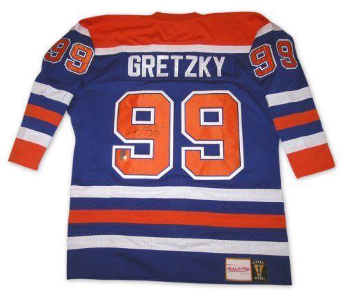huge selection of c191d f0855 Wayne Gretzky Signed Jersey - Autographed NHL Jerseys by ...