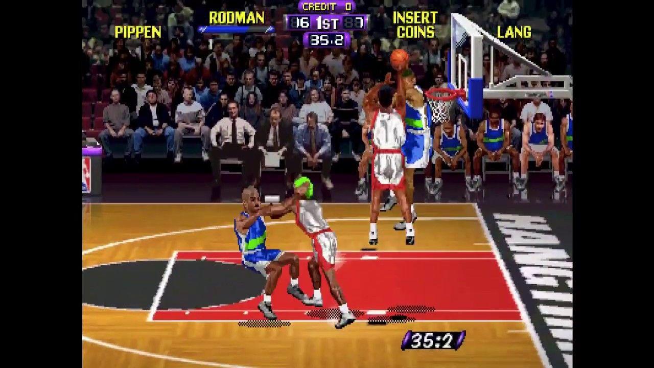 NBA Hangtime Short Longplay (Arcade Version) Just when it