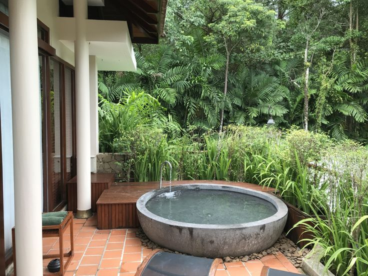 Photo of Outdoor stone bath for two, Hotel Sarojin, Khao Lak, Thailand #LuxuryBathing #Ta… – New Ideas