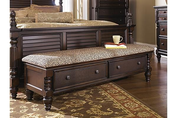 Benches Key Town Upholstered Bench Ashley Furniture Storage Bench Bedroom Bench With Storage Storage Bench Seating