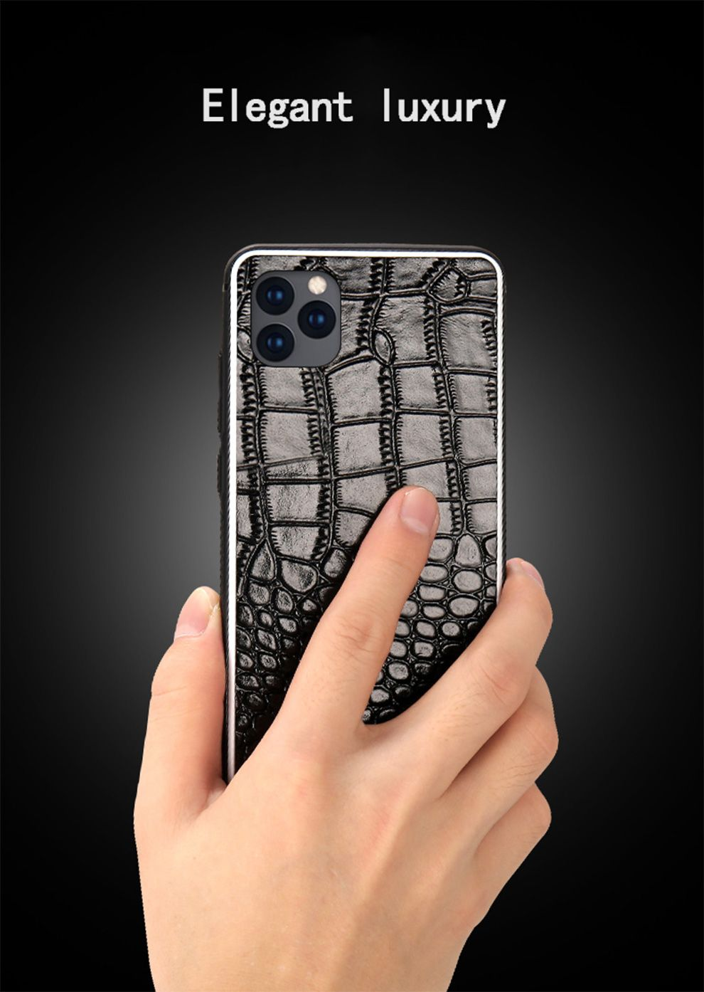 Genuine leather phone case for apple iphone 11 11 pro max