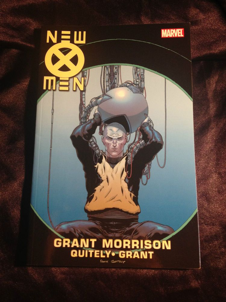 New X Men Vol 5 Marvel Graphic Novel Grant Morrison Frank Quietly Marvel Graphic Novels Graphic Novel Grant Morrison