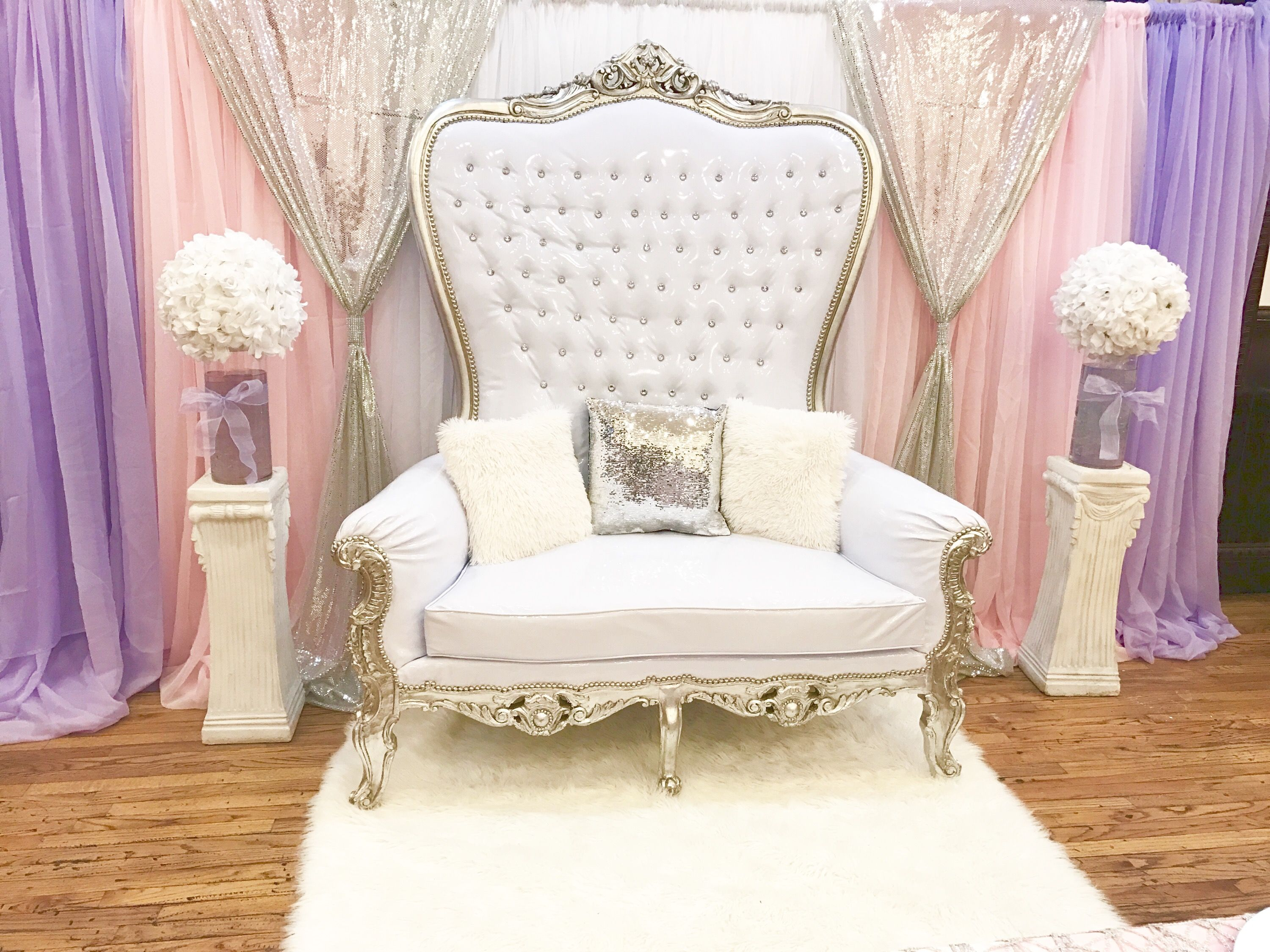 baby throne chair chairscape flooring for mom to be pink white lavender