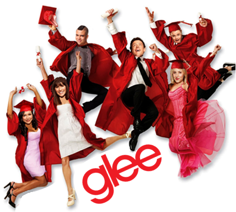 HSM3 poster with the glee cast