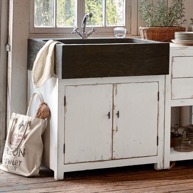 Waschtisch Hanson    landhaus-lookde shop waschtisch-hanson - badezimmermöbel weiß landhaus