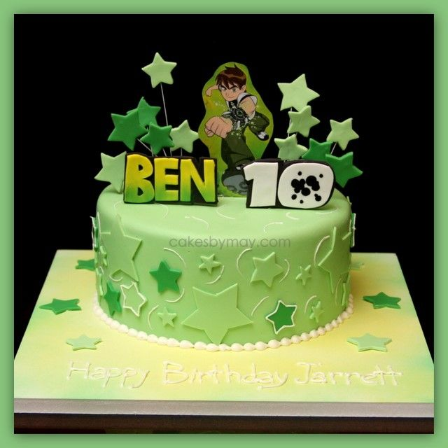 Ben 10 And Alice In Woderland Cakes Designed For Twins Com